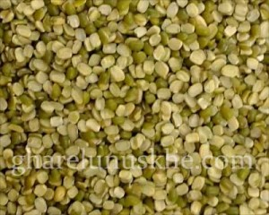 Moong Chilka, Split Mung Bean