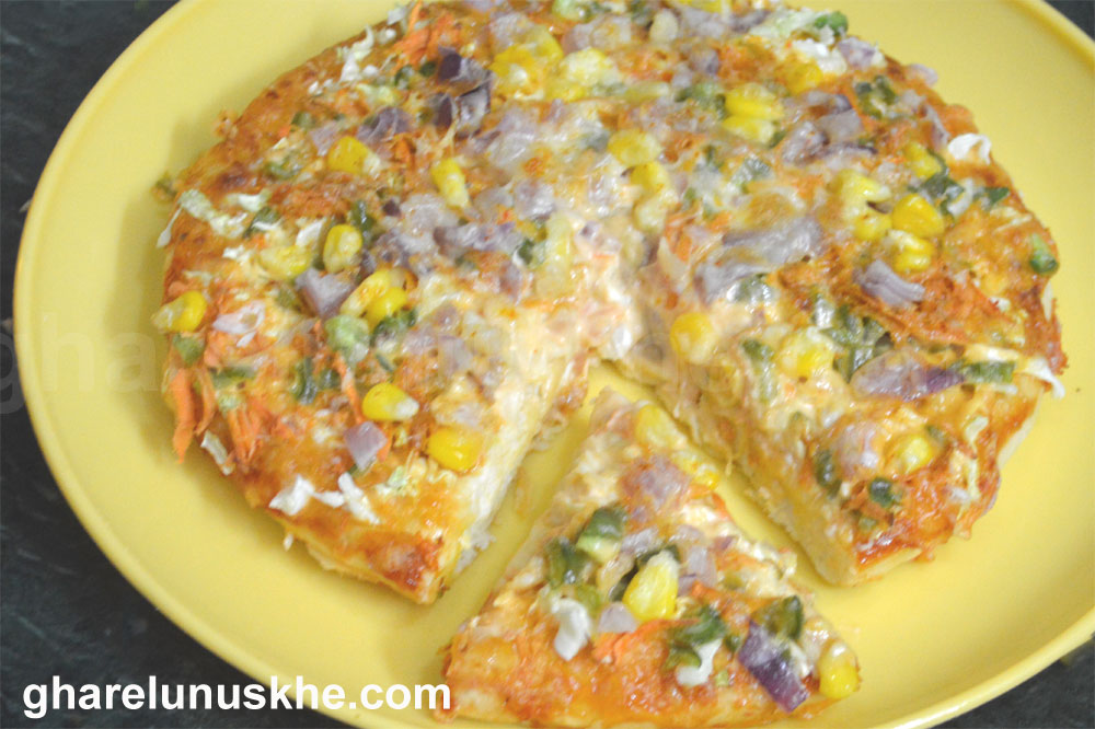 pizza recipe  in hindi