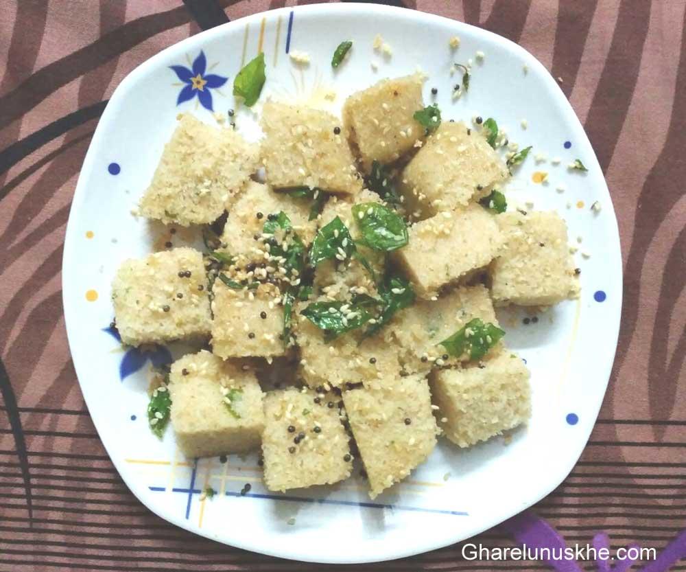 Cake Banane Ki Ghar Ki Recipe: Suji Ka Dhokla Banane Ki Vidhi