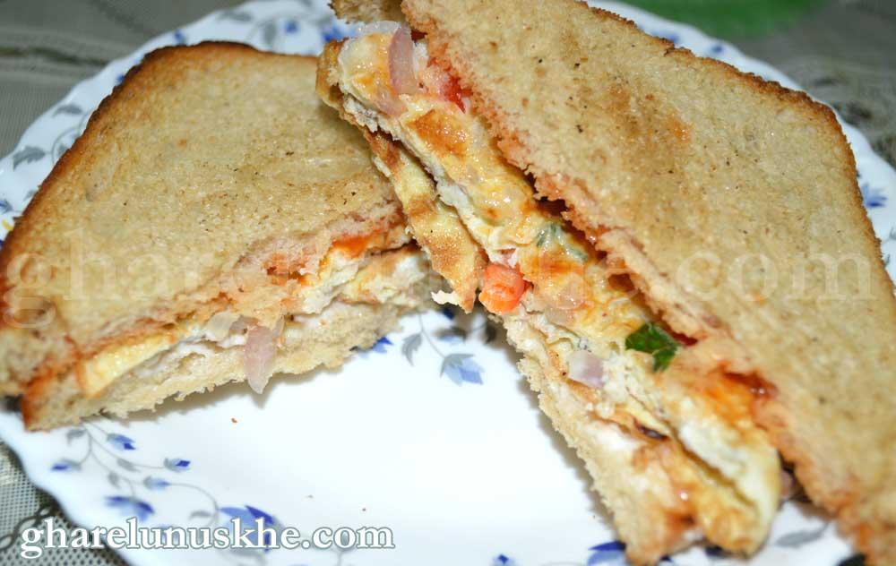 egg sandwich recipe, anda sandwich