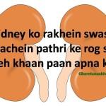 kidney stone mein kya khayein kya naa khayein