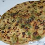 palak paratha recipe image, पालक पराठा
