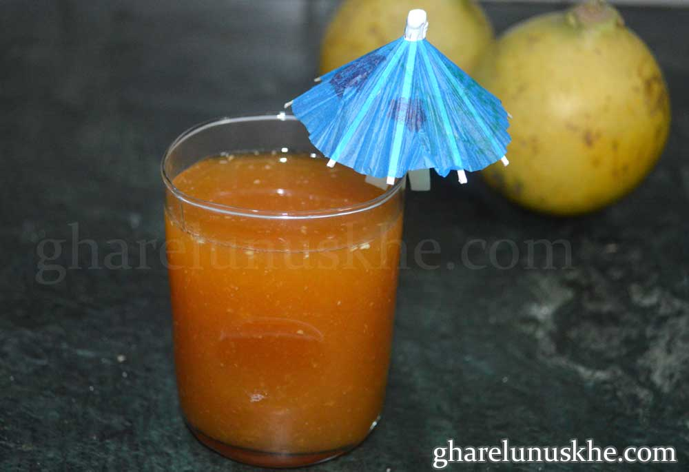bel patra sharbat juice, bel ka sharbat, bel juice recipe in Hindi