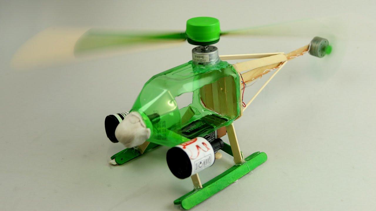 Сделать вертолет с моторчиком своими руками 59